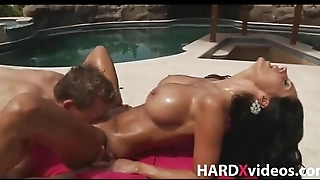 Busty milf Ava Addams fucked after massage
