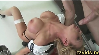 Nikki Benz sucking big cock