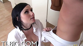 Girl acquires cumcovered