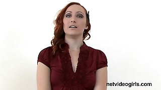 Amateur redhead has stunning BJ get a look-see at