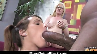 Monster black cock bangs my moms white pussy 18
